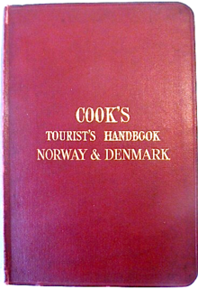 <i>Cooks Travellers Handbooks</i> series of guide and travel books during the 19th and 20th centuries