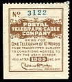 1909 Postal Telegraph Cable Company stamp.jpg