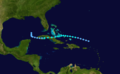 1921 Atlantic tropical storm 7 track.png