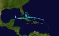 1921 Atlantic tropical storm 7 track.png