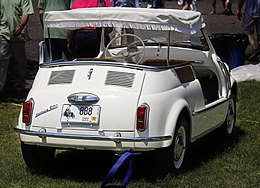 1961 Fiat 500 Jolly rear view.JPG