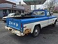 1978 Jeep J-10 pickup truck, 131-inch wb, 6200 lbs GVW, 258 CID six automatic blue-white 05.jpg