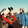 1980 Homemade 6 Inch Dall Kirkham Cassegrain Binocular Telescope on a Clock Drive Equatorial Mount.jpg