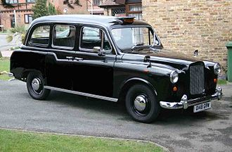 The London Taxi Company - Austin/Carbodies FX4