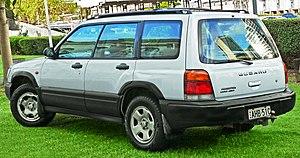 Subaru Forester - Pre-facelift Subaru Forester Limited (Australia)