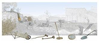 Gypsum - Gypsum works, Valencian Museum of Ethnology.
