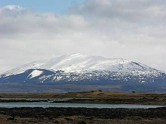 Hekla - Hekla and Þjórsá
