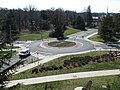 2008 03 12 - UMD - Roundabout viewed from Art Soc Bldg 1.JPG