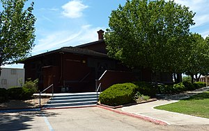 Orange Cove, California - The Orange Cove Santa Fe Railway Depot now serves as City Hall and is also listed on the National Register of Historic Places.