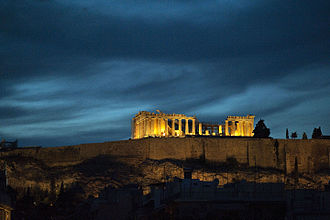 History of citizenship - The Athenian conception of citizenship reflected a desire for freedom itself. Photo: Parthenon.