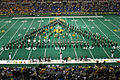 2010 NDSU GSMB performing on field.jpg