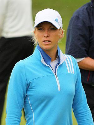 Melissa Reid - Reid at the 2010 Women's British Open
