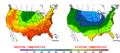 2011-09-15 Color Max-min Temperature Map NOAA.png