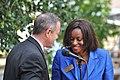 20110916 235 Valentina Ukwuoma with Governor Martin O'Malley (6176458234).jpg