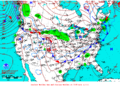 2012-01-20 Surface Weather Map NOAA.png