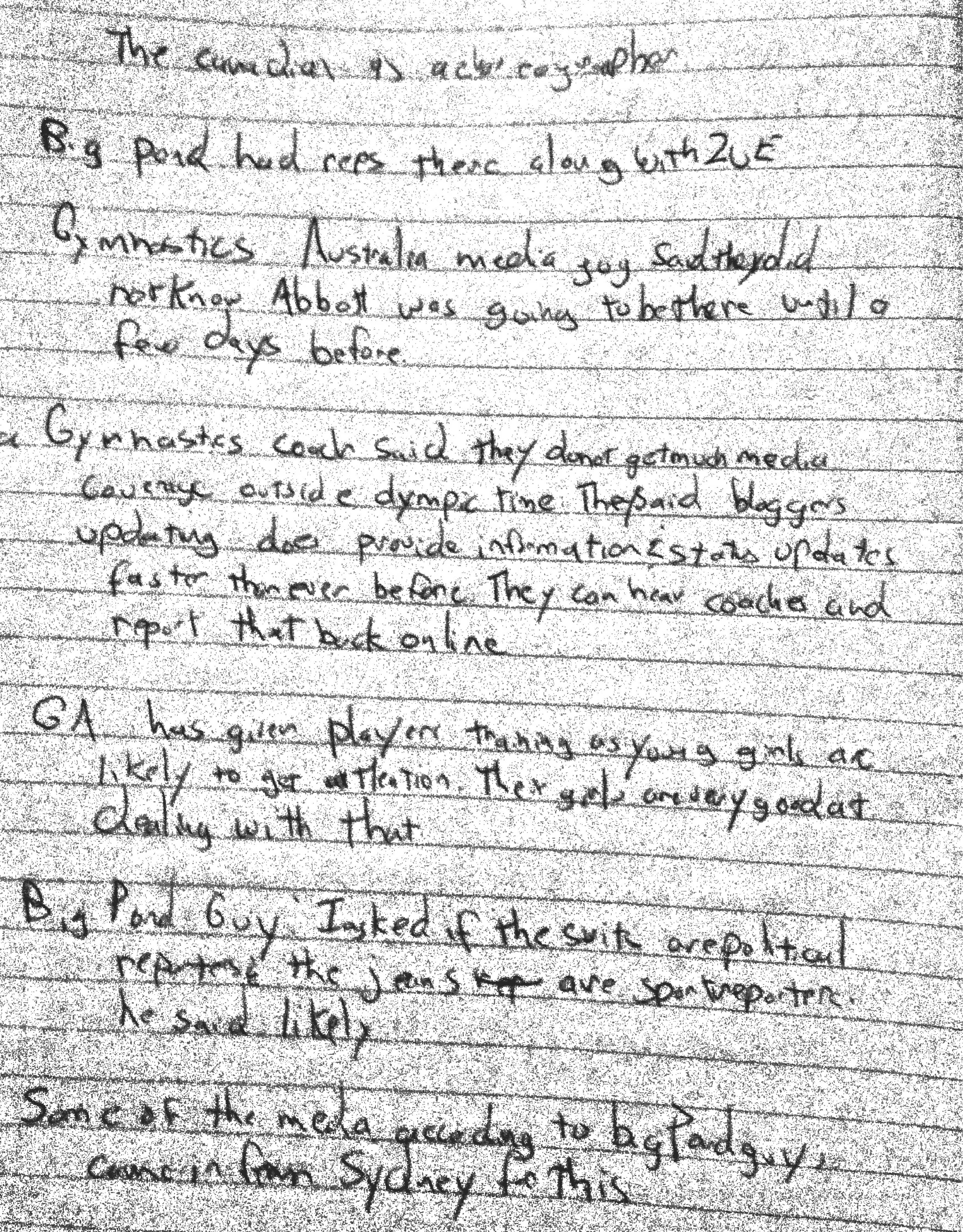 journalism notes View notes - sports journalism notes from liberal ar 2190 at university of iowa sports journalism grantland rice- the four hoursemen - college athlete who entered journalism just as the byline was.