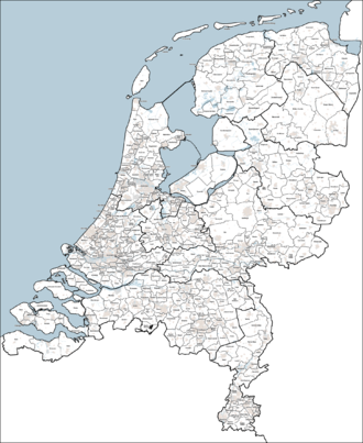Municipal politics in the Netherlands - Municipalities of the Netherlands