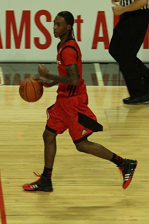 2013–14 NC State Wolfpack men's basketball team - Anthony Barber in the 2013 McDonald's All-American Boys Game