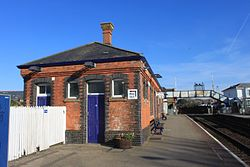 2013 at Camborne station - main building from the south west.jpg