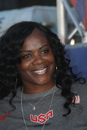 Sheryl Swoopes - Swoopes at the 2014 World Basketball Festival