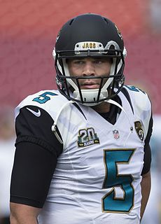 Blake Bortles American football quarterback