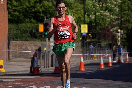 2014 London Marathon - El Amin Chentouf.jpg