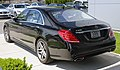 2014 Mercedes-Benz S550, rear, black (US).jpg