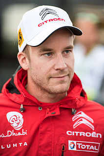 Mads Østberg rally driver for M-Sport World Rally Team in the World Rally Championship