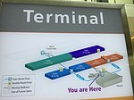 2015-07-10 17 42 36 Map of the terminal and concourses at Washington Dulles International Airport in Virginia.jpg