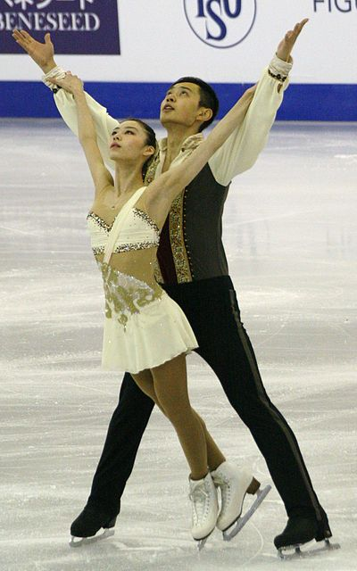 Yu Xiaoyu and Jin Yang scored three World junior records during their junior career. They scored once the combined total record and twice the short program record.