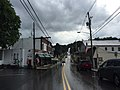 2016-08-21 15 48 31 View south along Maryland State Route 808 (Main Street) between Park Avenue and Hood Street in Mount Airy, Carroll County, Maryland.jpg
