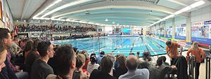 2016 Women's Water Polo Olympic Games Qualification Tournament - Panoramic view of the Groenhovenbad