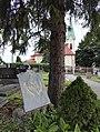 2017 Lutheran cemetery Stonava erection plate.jpg