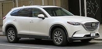 Mazda CX-9 - Image: 2017 Mazda CX 9 (US) front 3.17.18