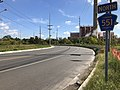 2018-10-03 10 41 24 View north along Camden County Route 551 (Broadway) just north of Newton Creek in Camden, Camden County, New Jersey.jpg