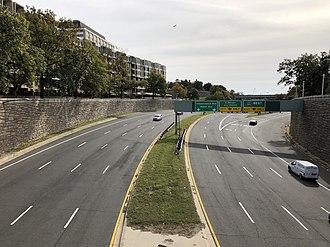 Streets and highways of Washington, D.C. - I-66 in Washington, D.C.