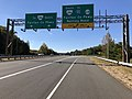 2018-10-30 12 43 18 View west along Virginia State Route 289 (Franconia-Springfield Parkway) at the exit for Virginia State Route 286 SOUTH and Virginia State Route 638 (To Interstate 95) in West Springfield, Fairfax County, Virginia.jpg