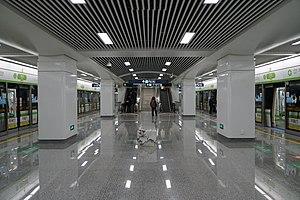 浦沿站站台