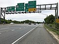 2019-05-22 13 33 28 View west along Interstate 595 and U.S. Route 50 and south along U.S. Route 301 (John Hanson Highway) at Exit 21 (Interstate 97 NORTH, Baltimore) in Parole, Anne Arundel County, Maryland.jpg