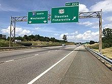 rt 81 virginia map Interstate 81 In Virginia Wikipedia