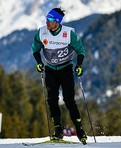 20190303 FIS NWSC Seefeld Men CC 50km Mass Start Jonas Dobler 850 7395 (cropped).jpg