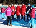 2020-01-15 Biathlon at the 2020 Winter Youth Olympics – Mixed Relay – Mascot Ceremony (Martin Rulsch) 28.jpg