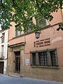 224 Biblioteca Beat Castellet, pl. Santa Eulàlia (Esparreguera).JPG