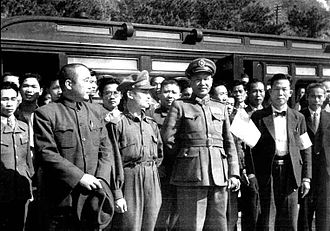 Bai Chongxi - Bai Chongxi in Taiwan after the February 28 Incident.