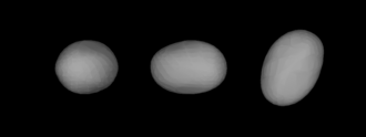 283 Emma - A three-dimensional model of 283 Emma based on its light curve