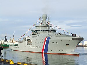 Icelandic Coast Guard - ICGV Þór - flagship of Icelandic Coast Guard since 2011