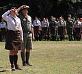 2nd Ukrainian Scout Jamboree 2009 opening ceremony - commandant.jpg