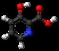 3-Hydroxypicolinic-acid-3D-balls.png
