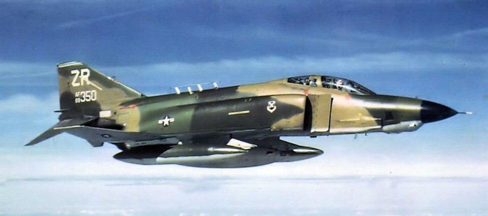 38th Tactical Reconnaissance Squadron - McDonnell Douglas RF-4C-41-MC Phantom - 69-0350