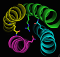 3Q-1R zero ionic layer structure on Pymol.png